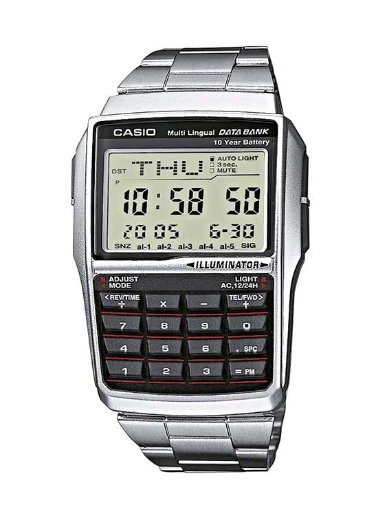 orologio calcolatrice da polso casio