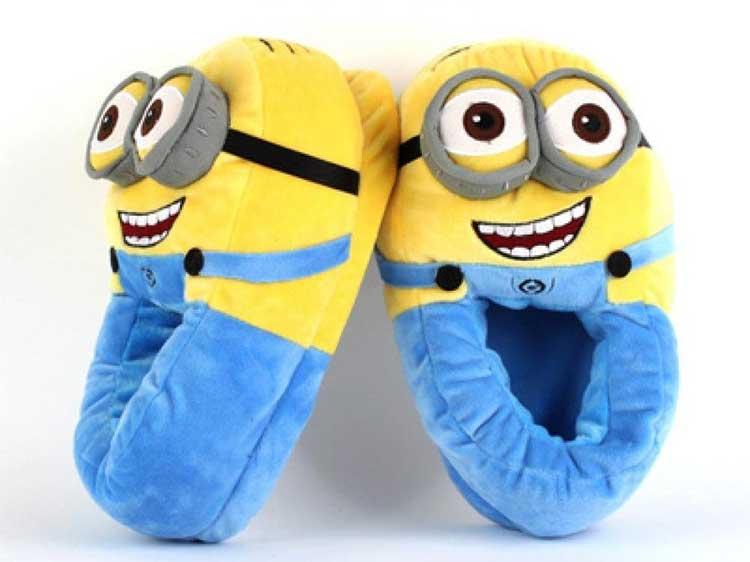 pantofole minions cartone animato