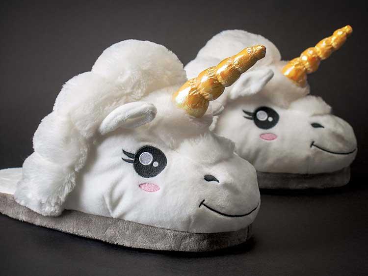 ciabatte unicorno calorose