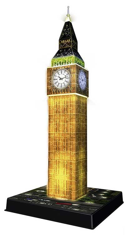 puzzle 3D big ben luminoso