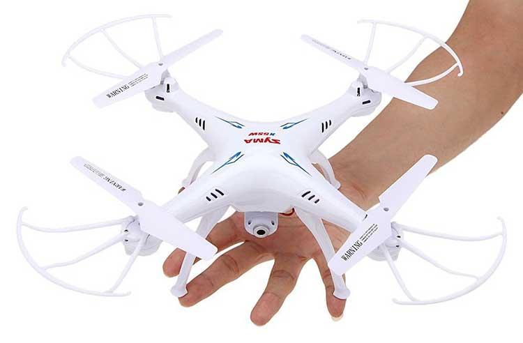quadricottero Syma drone X5SW