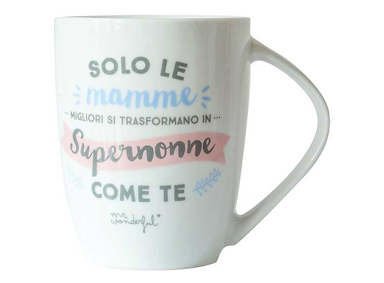 regalo nonna tazza supernonna