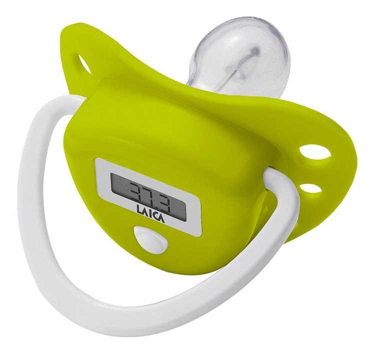 termometro neonato ciuccio laica