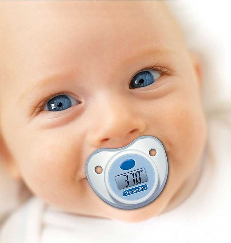 termometro neonato ciuccio visiomed baby