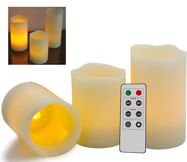 oggettistica casa candele profumate led
