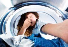 cattivo odore lavatrice