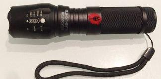 gladiator flashlight torcia militare