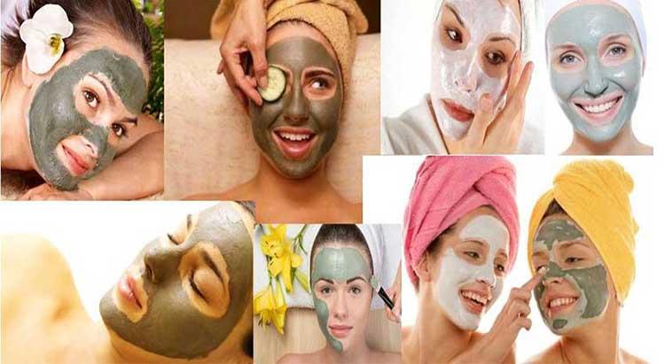 pulizia del viso maschera argilla