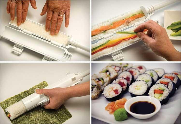 come preparare il sushi pistola bazooka sushi