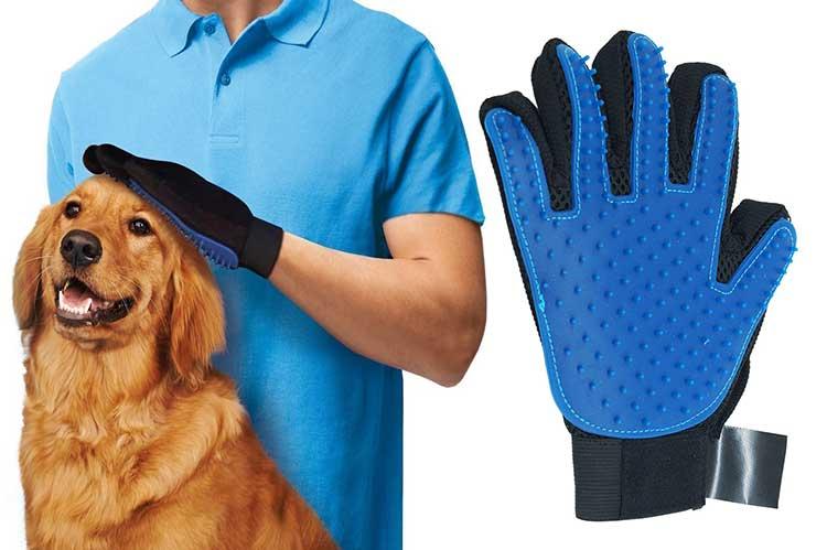 guanto rimuovi peli true touch per animali