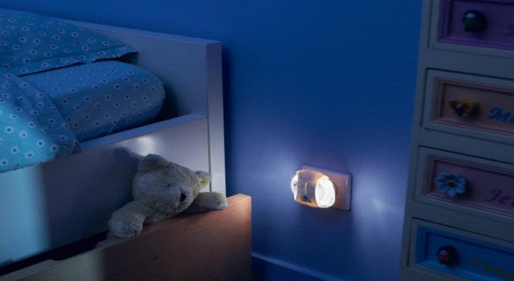 luce notturna automatica