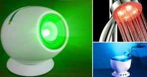 Cromoterapia: I Migliori Gadgets Per Curarsi Con I Colori.