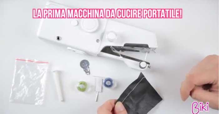 Biki la mini cucitrice che hai sempre sognato for Macchine per cucire portatili