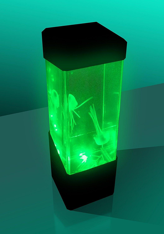 lampada medusa acquario