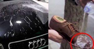 Lo Spray Impermeabilizzante Per Scarpe E Auto Che Rende Tutto Idrorepellente
