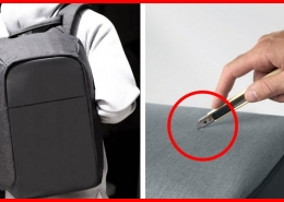 nomad backpack zaino antitaglio antitaccheggio
