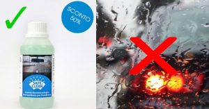 Safe And Clean: Lo Spray Idrorepellente Per Parabrezza