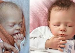 bambole reborn dolls che sembrano vere silicone maschi femmine