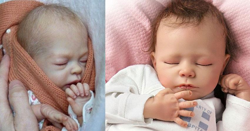 Bambole Reborn: Le Bambole Che Sembrano Vere. Le Migliori Reborn Dolls In Silicone Maschi e Femmina.