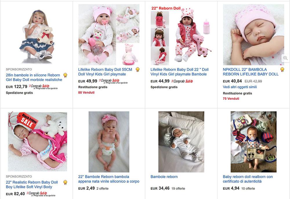bambole reborn ebay
